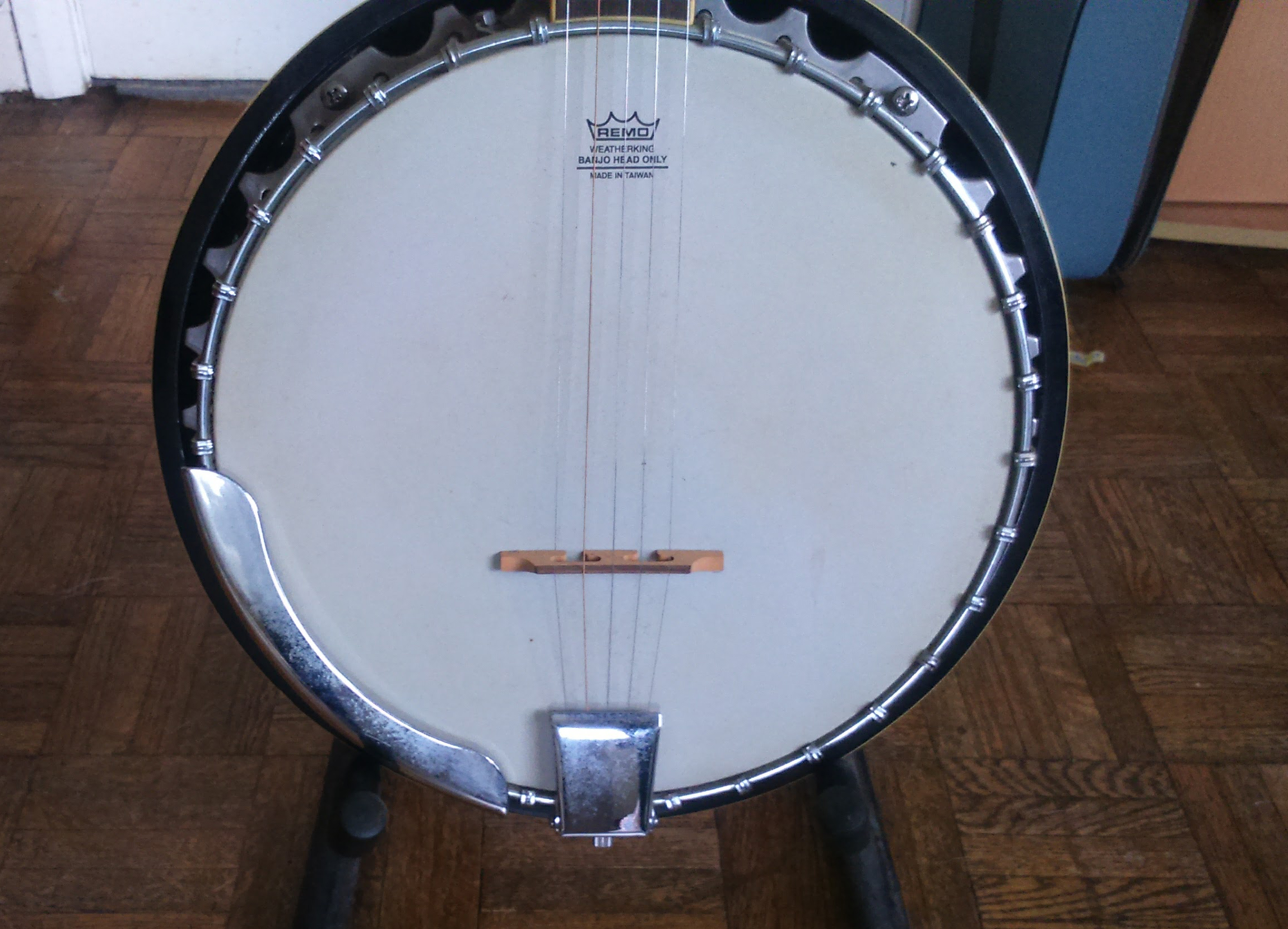 Banjo Remo Head cropped